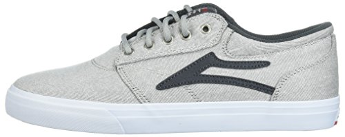 Denim Lakai Homme De Skateboard Chaussure Pour Blanc Griffin 08Rgwz