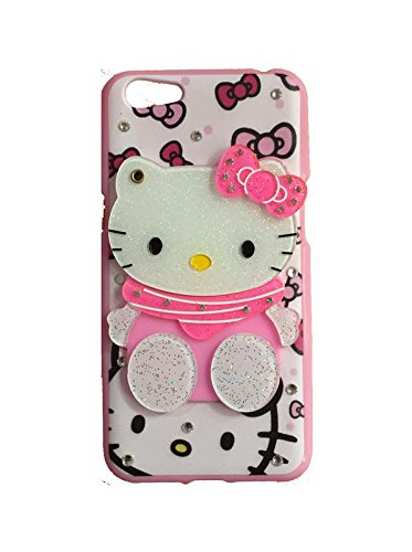 online store d75cf 04ea0 Aarnik Makeup Mirror Hello Kitty with Diamond Stone: Amazon.in ...