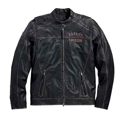 Harley Davidson Leather Jacket Distressed 98089 15VM
