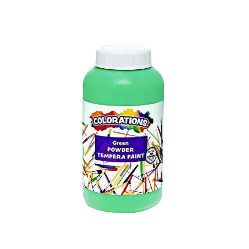 Colorations CPTGR Powder Tempera, Green - 1 lb.