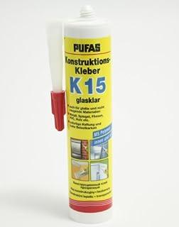 Pufas Konstruktions Kleber K 15 Montagekleber Spiegelkleber