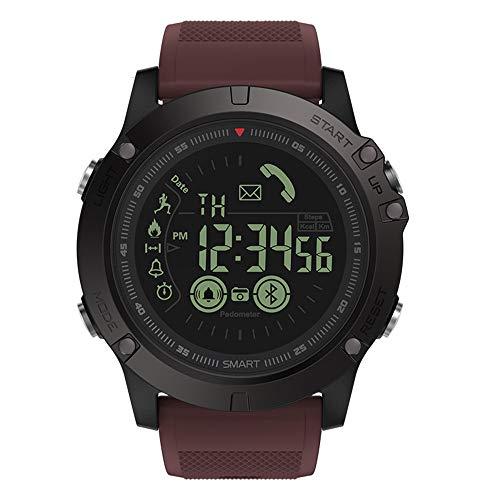 certainPL Zeblaze VIBE 3 Sport Smartwatch (Bluetooth), Waterproof Activity Tracker Calories Counter Step Counter Sports Watch (Red)