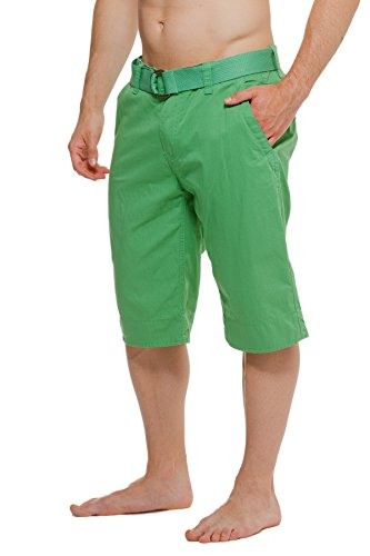 Solid Colored Front Chino Shorts product image