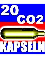 NEMT 20 Be CO2 biercapsules voor alle biertapinstallaties met 16 g CO2