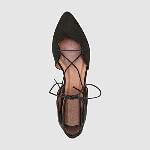 Kaki Donna La Sintetico Redoute in Collections Materiale Ballerine 0U1w6q