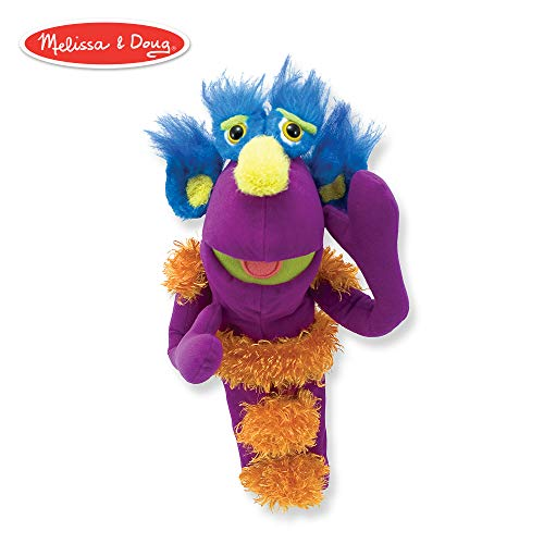 Melissa & Doug Make-Your-Own Monster Puppet Kit (30 Pieces) (Your Build Own Puppet)