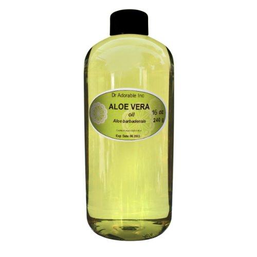 Aloe Vera Pure Oil Organic 16 Oz