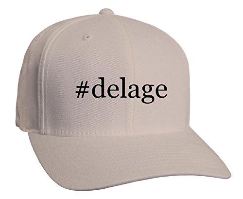 delage-hashtag-adult-baseball-hat-silver-large-x-large
