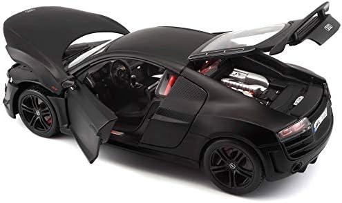 MAISTO DIECAST 1:18 MODELLAUTO AUDI R8 GT SILBER 36190 NEU