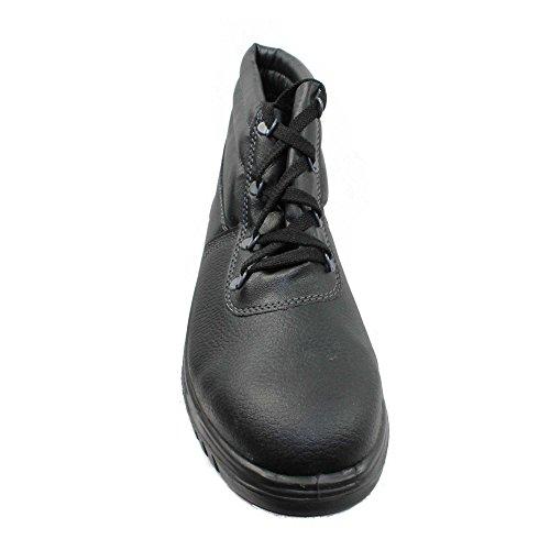 Centek - Calzado de protección de Piel para hombre Negro negro Negro - negro