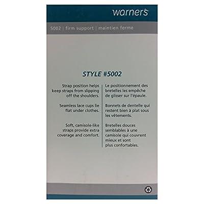 66d77ddf4bf Warners Women s Firm Support Underwire Bra  1OeGr0803837  -  31.99