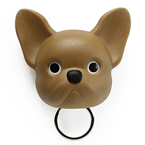 Sansukjai Brown French Bulldog, Frenchie , Dog, Key Holder, Wall Decor, Wall Hanging, Key Hanger, Key Hooks, Dog lover, - Net Curtains John Lewis