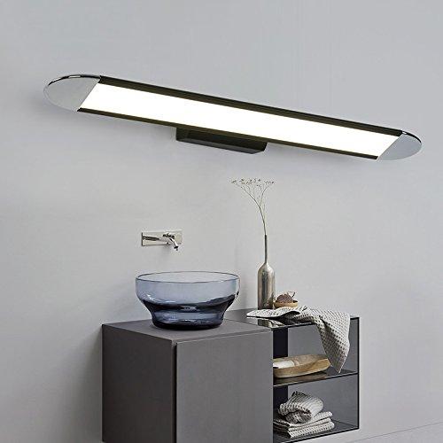Einfach Badezimmer Spiegelschrank Licht Kreative Edelstahl