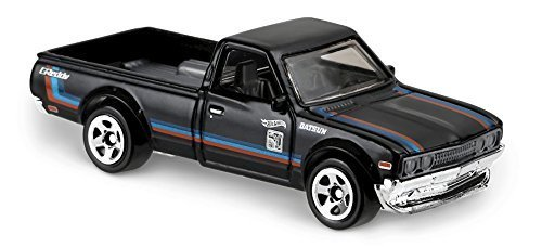 Datsun Truck (Hot Wheels 2017 HW Hot Trucks Datsun 620 317/365, Black)