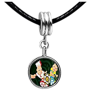 Chicforest Silver Plated Mascots of UEFA Euro 2012 with soccer ball Photo Light Amethyst Crystal June Birthstone Flower dangle Charm Beads Fits Pandora Charm