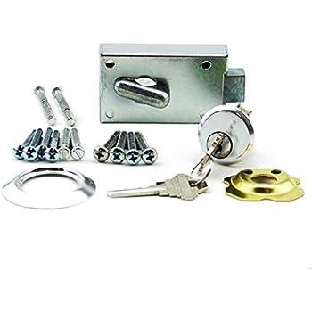 Heavy Duty Simple Hard Center Mount Easy Install Garage Door Lock