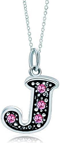 LovelyJewelry Alphabet Initial Necklace Pendant product image