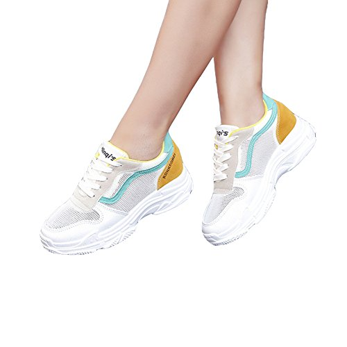 warm Gym Sneakers Athletic Sport Chu KKLM Jogging Workout Green14 Women's Shoes Walking Fashion Fitness Running AdvCwqC
