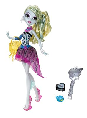 Monster High Dot Dead Gorgeous Lagoona Blue Doll from Mattel