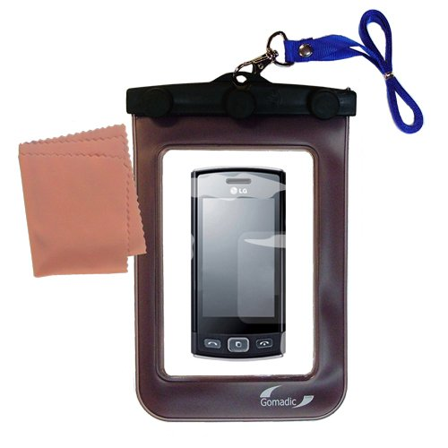 underwater case for the LG LG GM360 Viewty Snap - weather and waterproof case safely protects against the elements