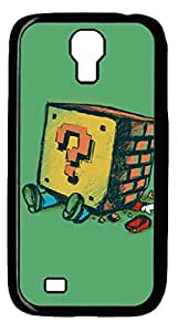 iCustomonline Loose Brick Designs PC Black Case Back Cover for Samsung Galaxy S4 I9500 by mcsharks