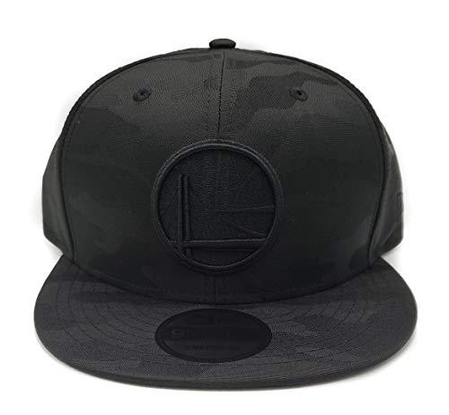 New Era Blackout Camo Play 9FIFTY Adjustable Snapback Hat (Golden State Warriors) (Golden State Warriors New Era)