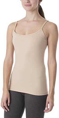 PACT Women's Everyday Organic Cotton Shelf-Bra Camisole