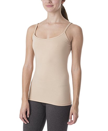 9ff0388dd241f8 PACT Womens Everyday Organic Cotton Shelf-Bra Camisole - Natural Baby Mama