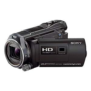 """Sony HDRPJ650VE - Videocámara FULL HD de 20.4 Mp (pantalla de 3"""", zoom óptico 12 x, zoom digital 20 x, estabilizador de imagen) color negro"""
