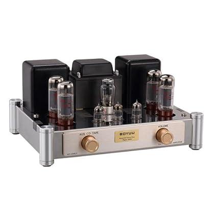 amazon com nobsound el34 vacuum tube amplifier hifi stereo  gd parts kt88 push pull integrated tube