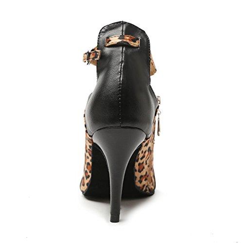 bal Brown Salle 8 Black Heel femme Minitoo de 5cm TE7xqz