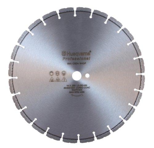 Husqvarna 542758929 F620C Professional Cured Concrete Diamond Blade, 16-Inch by 0.125-Inch by 1 DP - Cured Concrete Diamond Blade