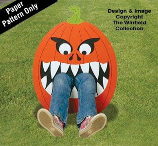 Hungry Pumpkin #1 Pattern -
