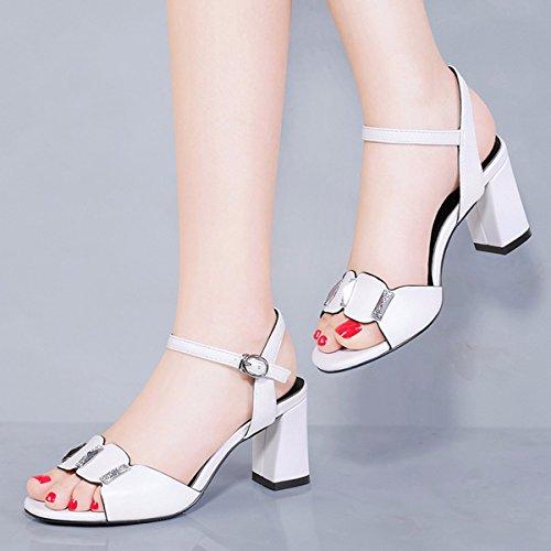 Talón Zapatos Tacon white Alto De QPSSP Tacon qTEPHtp