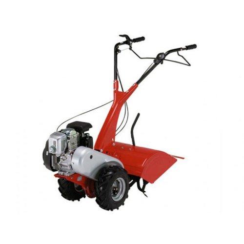 Benzin-Gartenfräse Fräse Kultivator Motorhacke Bodenfräse Einachsfräse Eurosystems EUR RTT 2 H (ohne Räder, ohne Erdbeere)
