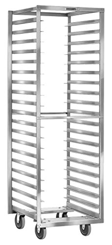 Lakeside 172 Standard Series Narrow Opening Sheet Pan and Tray Rack, Stainless Steel, 18 Angle Ledges, 21'' x 29-1/4'' x 62-1/8'' by Lakeside