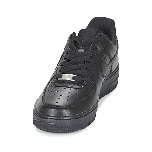 Nike Wmns 1 Donna Force '07 Nero Air Basketball Scarpe da 6gqrx6n1