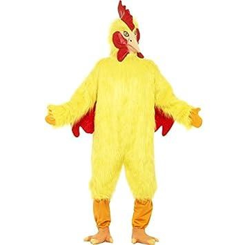 Disfraz de pollo, amarillo: Amazon.es: Juguetes y juegos