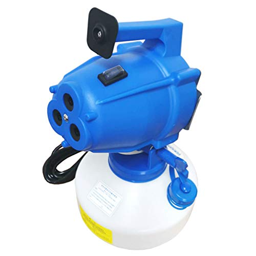YUI 4L Portable Electric ULV Cold Fogger Spray Gun Machine Disinfection Sprayer, Suitable for Hospitals, Gardens, Streets, School, Hotel Rooms