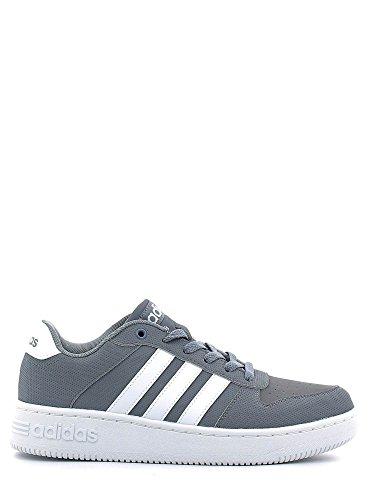 adidas TEAM COURT - Zapatillas deportivas para Hombre, Gris - (GRIS/FTWBLA/FTWBLA) 43 1/3
