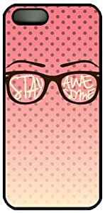 Creative glasses design for iphone 4 4S case cover