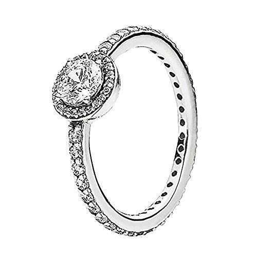 Pandora Ring Classic Elegance 190946cz-52 - Size 6 - Pandora Stackable Rings