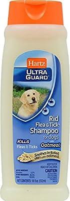 Hartz Ultra Guard Rid Flea and Tick Shampoo for Dogs 18 oz.