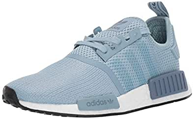 adidas Originals Women's NMD_R1 Running Shoe, ash Grey/ash Grey/raw Steel, 9 M US