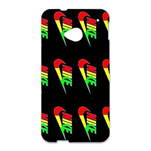 Fancy Charming Nike Logo Phone Case Luxury Series 3D Hard Case Cover for Htc One M7 with Nike Logo