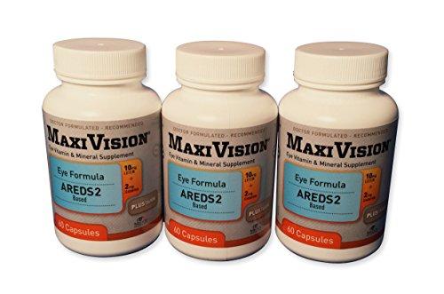 MedOp MaxiVision Eye Formula – 60 Capsules, 3 Bottles Review
