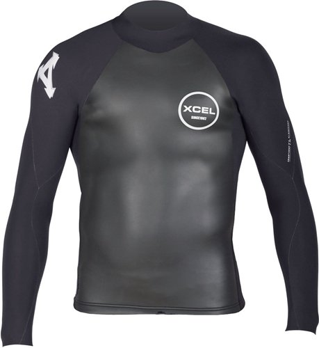 Xcel Infiniti SmoothSkin Men's 2mm Wetsuit Top (X-Large) by Xcel