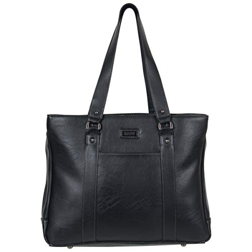 - Kenneth Cole Reaction Luggage Hit Women's Pebbled Faux Leather Triple Compartment 15