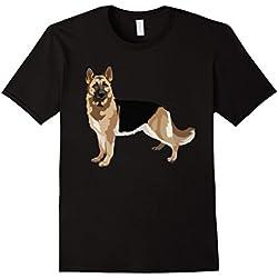 Gifts for German Shepherd lovers dog pop art t shirt