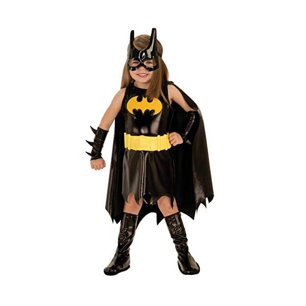 Rubies Girls Batgirl Outfit Toddler Fancy Dress Halloween Costume